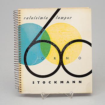 KATALOG:  Stockmann, Valaisimia Lampor, 1900-talets mitt.