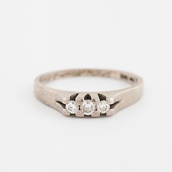 RING, med briljantslipade diamanter totalt 0.20 ct, Ceson, Göteborg, 1978.