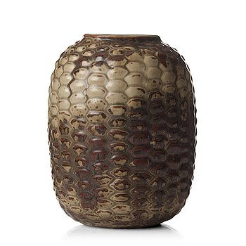 105. Axel Salto, a stoneware vase, Royal Copenhagen, Denmark.