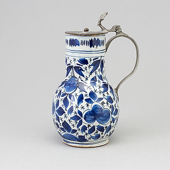 A jug, Holland, ca 17th or 18th century.