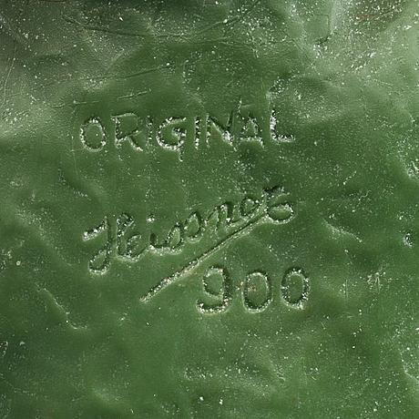 Tomtar, plast, 2 st. en märkt heissner, 1900-talets mitt.