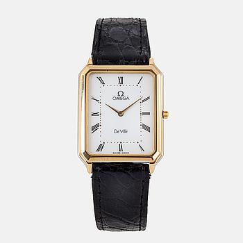 OMEGA, De Ville, armbandsur, 26,5 x 31,5 mm.