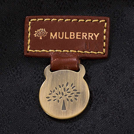 Mulberry, suitcase.