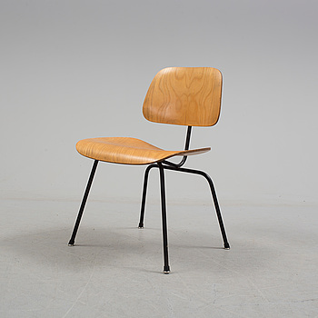 """CHARLES & RAY EAMES, stol, """"DCM (Dining Chair Metal)"""", Herman Miller, 1950-/60-tal."""