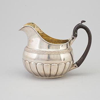 ELIAS MODIG, GRÄDDKANNA, empire, Silver, S:t Petersburg, Ryssland, 1824.