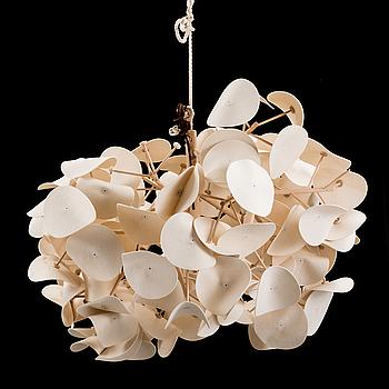 "PETER SCHUMACHER, taklampa ""Leaf Lamp"", Green Furniture Concept."