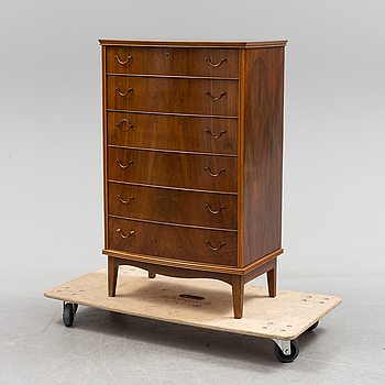 A second half of the 20th century chest of drawers.