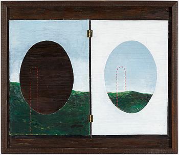 PHILIP VON SCHANTZ, PHILIP VON SCHANTZ, oil on panel, signed and dated -66.