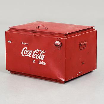 "KYLBOX, ""Coca Cola"", 1900-talets mitt."