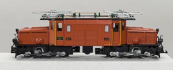 "LEHMANN GROSS BAHN, elektriskt lok ""Krokodilen"" modell 2040."