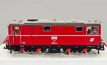 LEHAMNN GROSS BAHN, diesellok 2095 N.