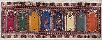 MATTA, Orientalisk Saff, ca 278 x 97 cm.
