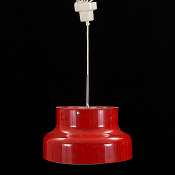 """ANDERS PEHRSON, taklampa, """"bumlingen"""", Ateljé Lyktan. 1900-talets andra hälft. Höjd ca 23 cm."""