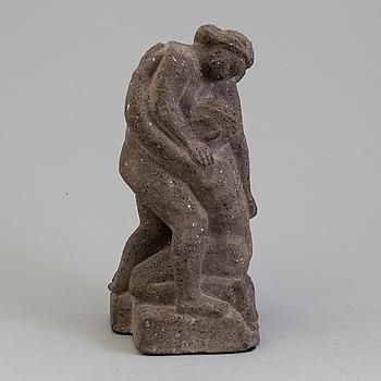 BROR HJORTH, skulptur av stenmassa. Signerad.