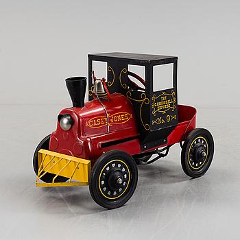 CASEY JONES TRAMPBIL, Garton Toy Co, USA, 1950-60-tal.
