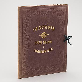 VERLDSBYGGNADEN, Populär Astronomi i transparenta taflor, Nitzschke Verlag Stuttgart & Albert Bonnier Stockholm.