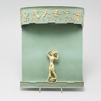 A 1920/30s Swedish Grace wall lamp.