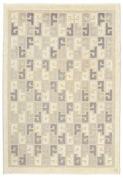 309. Sigvard Bernadotte, A CARPET, knotted pile in relief, ca 281 x 190,5 cm, signed SB (Sigvard Bernadotte).