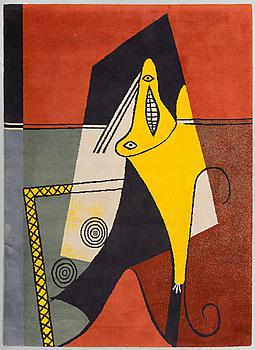 """PABLO PICASSO, efter,""""La Figura"""" tuftad matta, desso, Holland, 1994, 397/500, ca 240 x 170 cm."""