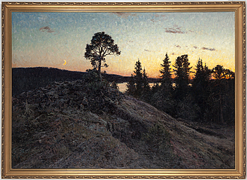 GOTTFRID KALLSTENIUS, GOTTFRID KALLSTENIUS, Oil on canvas, signed and dated 1905.