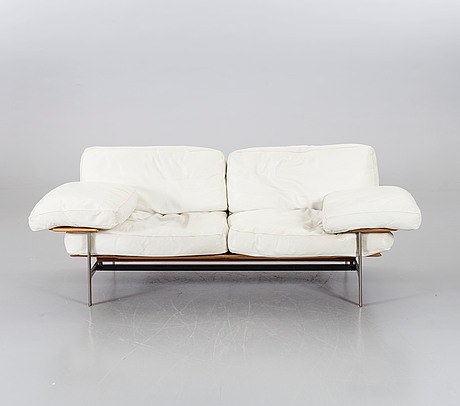 "A ""diesis"" sofa by antonio citterio and paolo nava for b&b italia."