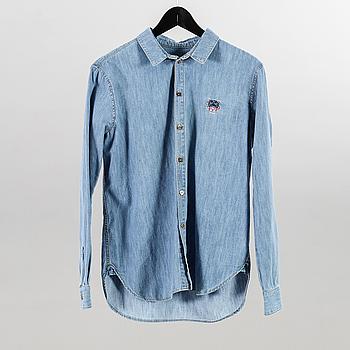 KENZO, skjorta, storlek 36.