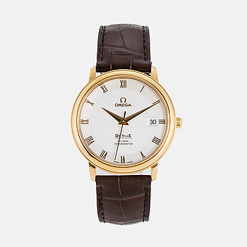 OMEGA, De Ville, Prestige, Chronometer, armbandsur, 36,5 mm.