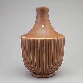 EWALD DAHLSKOG, EWALD DAHLSKOG, a ceramic vase from Bo Fajans, signed ED.