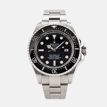 ROLEX, Oyster Perpetual Date, Deepsea, Sea-Dweller (12800 ft=3900 m), Chronometer, wristwatch, 44 mm.